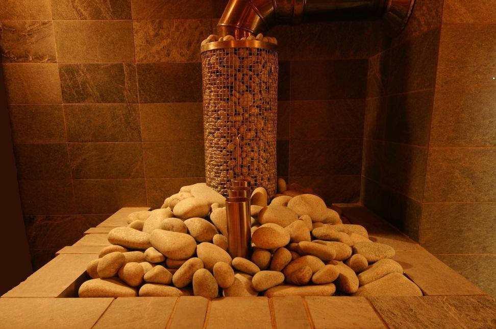 Различные размеры каменок в бане