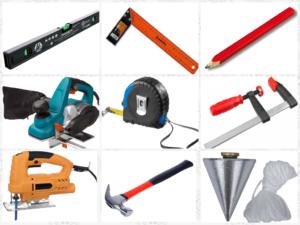 Инструменты для установки доборов