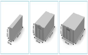 Разновидность газобетонного блока